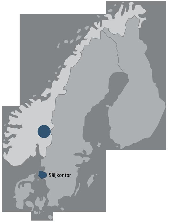 Bakside kart historie